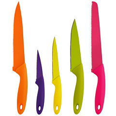 PURELIFE by Ragalta 5-pc. Non-Stick Knife Set