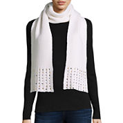 Mixit™ Jewel Tipped Oblong Scarf