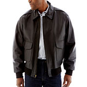 Excelled® Leather Flight Jacket