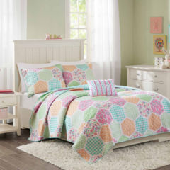 girls kids bedding for bed & bath - jcpenney