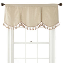 Royal Velvet® Supreme Rod-Pocket Lined Frontenac Valance