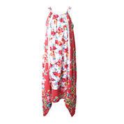 Pinky Floral-Print Trapeze Dress - Girls 7-16