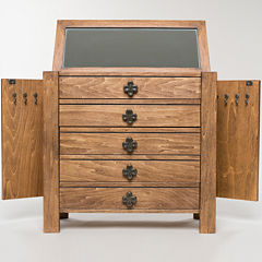 Hives & Honey Taylor Rustic Pine Jewelry Chest