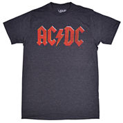 AC/DC Red Logo Graphic T-Shirt