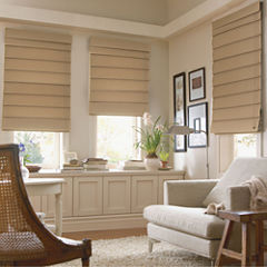 JCPenney Home™ Custom Savannah Roman Shade - FREE SWATCH