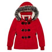 Girls Lightweight Fleece Jacket-Big Kid
