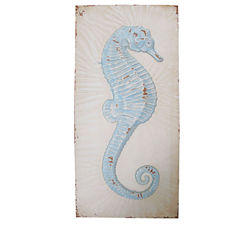 Seahorse In Frame Wall Decor