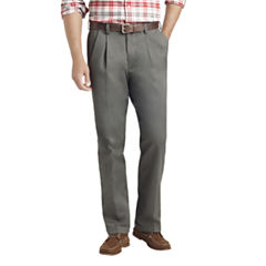 IZOD Classic Pleated Chinos