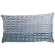 Royal Velvet® Lustrous Steel Print Oblong Decorative Pillow