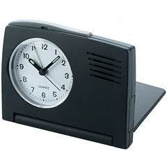 Natico Folding Travel Alarm Clock