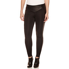 Bisou Bisou Piped Leggings with Yoke