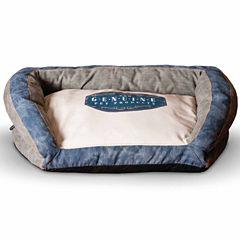 K & H Manufacturing Vintage Bolster Pet Bed