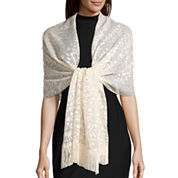 Big Buddha Burnout W/Fringe Evening Wrap