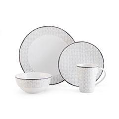 Mikasa Avery Chevron Dinnerware Collection