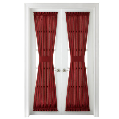 Royal Velvet® Plaza Thermal Interlined Rod Pocket Door Panel