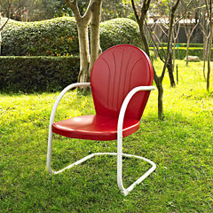 Crosley Griffith Metal Patio Dining Chair