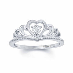 Enchanted by Disney Diamond Accent Sterling Silver