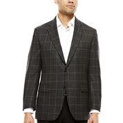Stafford®  Merino Wool Sport Coat - Slim Fit