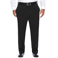 Stafford Travel Stretch Suit Pants- Portly Fit