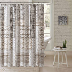 Archer Cotton Shower Curtain