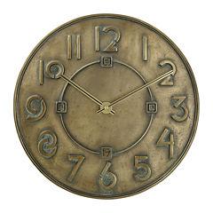 Bulova® Frank Lloyd Wright Exhibition Typeface Wall Clock