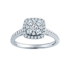 5/8 CT. T.W. Diamond Engagement Ring 14K Gold