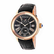 Seiko® Mens Black Titanium Solar Chronograph Watch SSC393