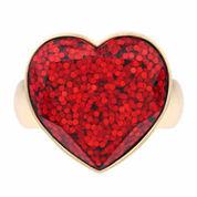 Liz Claiborne Red Jewelry Set