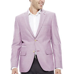 The Savile Row Co Slim Fit Chambray Sport Coat