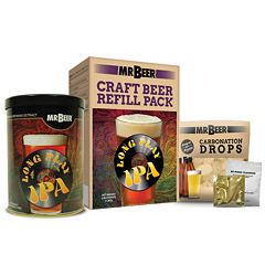 Mr. Beer Long Play IPA Craft Beer Making Refill Kit