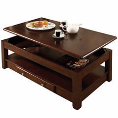 2-Drawer Lift-Top Coffee Table