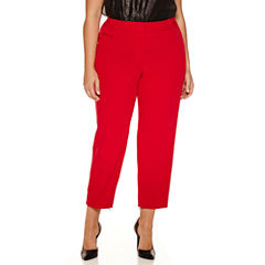 Worthington® Slim Suiting Ankle Pants - Plus