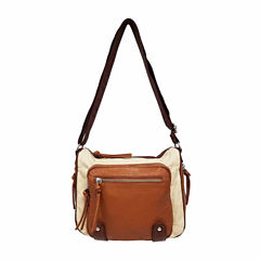St. John's Bay Color Block Convertible Crossbody Bag