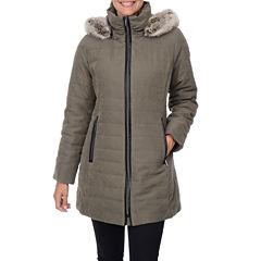Fleet Street Quilt Fur-Lined Jacket