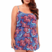 Jamaica Bay® Euphoria Triple-Tier Swimdress