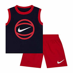 Nike Infant Boy GFX Muscle Tee and Short Set