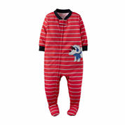 Carter's Boy Red 1pc Sleeper 12-24M