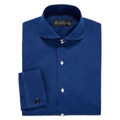 D'Amante Modern French Cuff Long Sleeve Dress Shirt