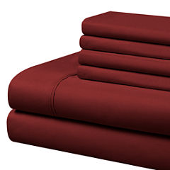 Cathay Home Microfiber Sheet Set with Bonus Pillowcases