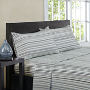 Intelligent Design Microfiber Multi Strpe Sheet Set