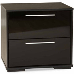 Mikka 2-Drawer Nightstand