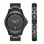 Claiborne Mens Black Watch Boxed Set-Clm9007