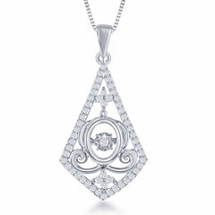 Enchanted by Disney 1/4 C.T. T.W. Sterling Silver