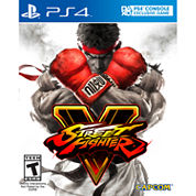 Street Fighter V Video Game-Playstation 4