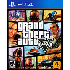 Grand Theft Auto V Video Game-Playstation 4