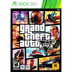 Grand Theft Auto V Video Game-XBox 360