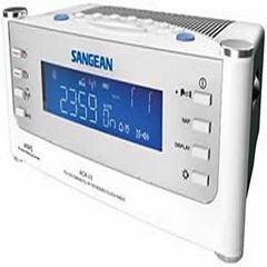 Sangean RCR-22 AM/FM PLL Synthesized Tuning Clock Radio with Radio Controlled Clock