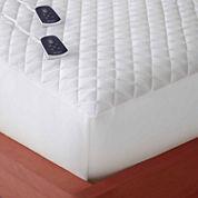 Micro Flannel Heated Mattress Pad