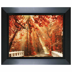 Red For Rest Framed Art