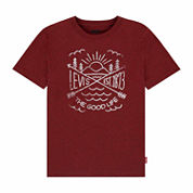 Levi's Boys Short Sleeve T-Shirt-Big Kid